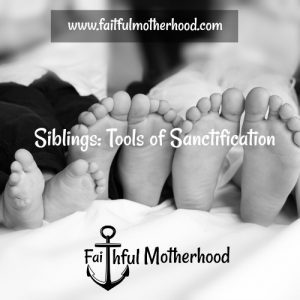 Sanctification Feet Sibllings