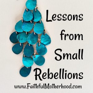 Blue Earrings Small Rebellions