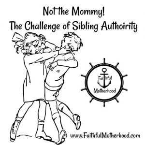 Siblings Fighting Challenge of Authority
