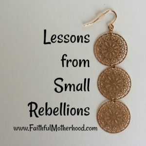 Gold Earrring Small Rebellions