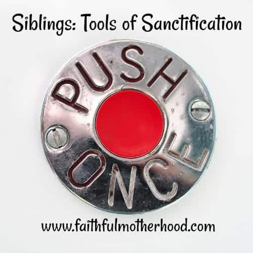 Siblings Push Button