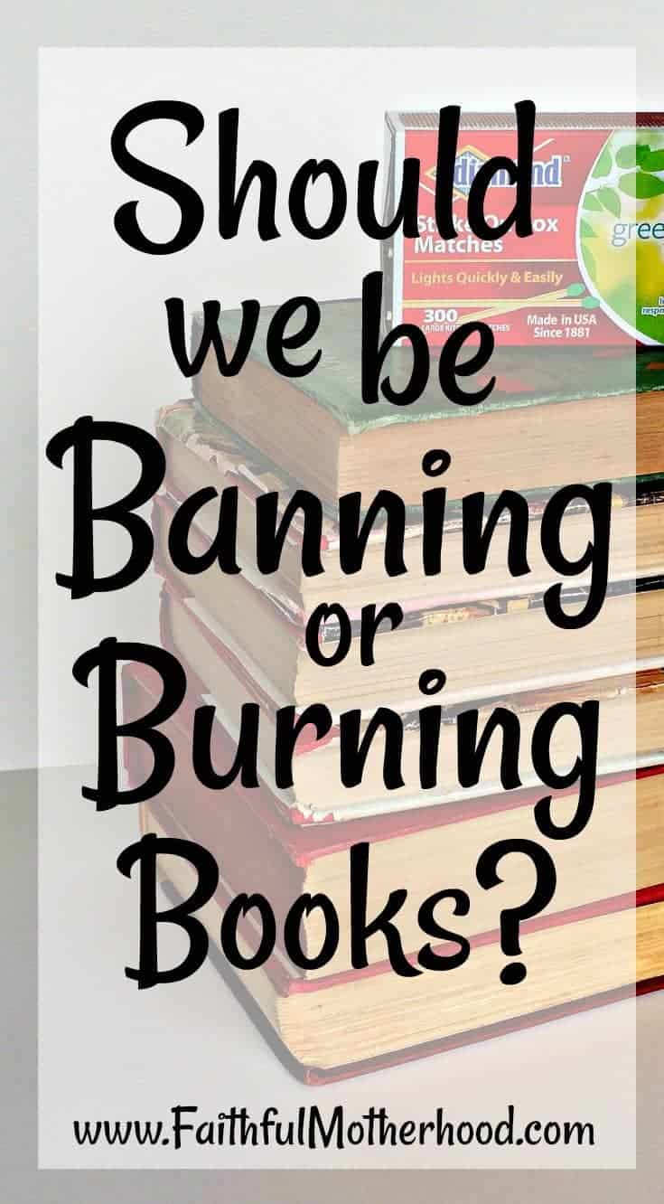 Should we banning or burning books