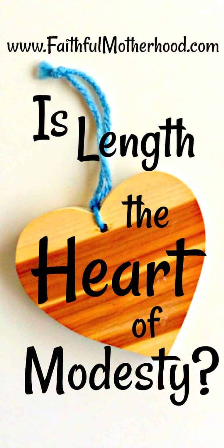 Wooden Heart Is Length the heart of modesty