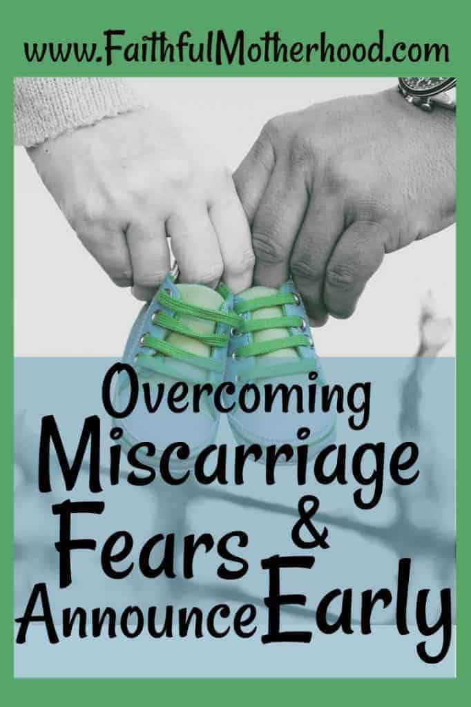 Miscarriage Fears Baby Shoes Green border