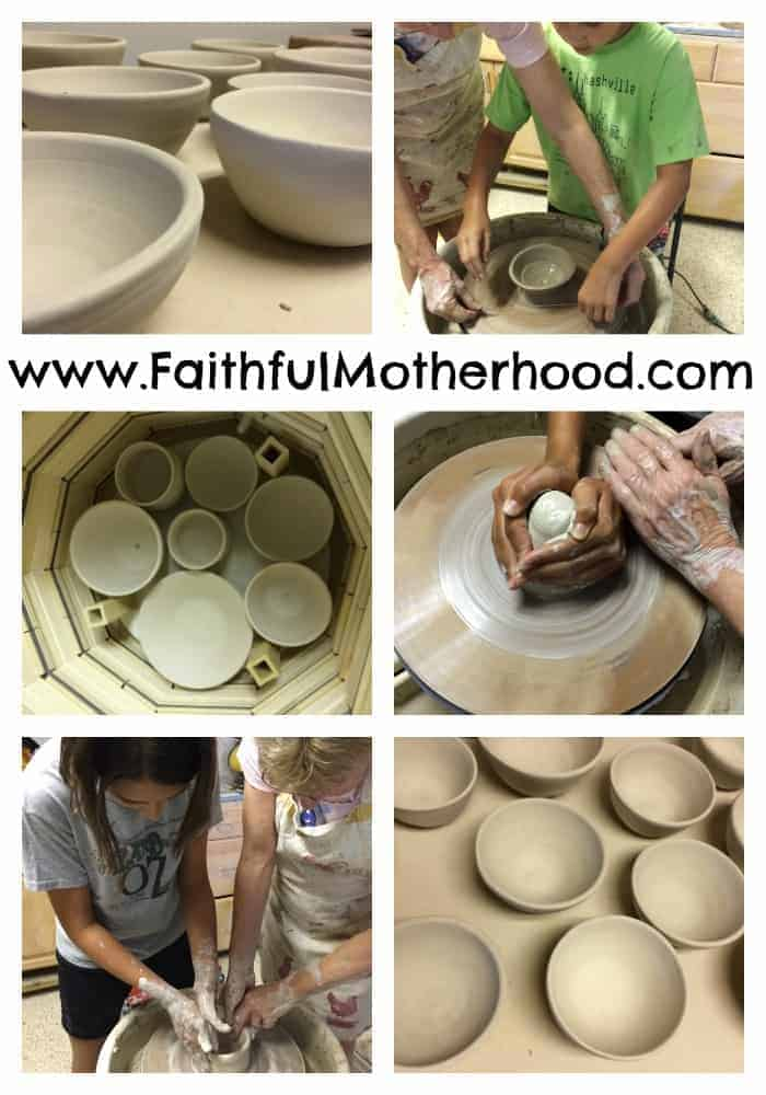 Pottery process biblical imagery