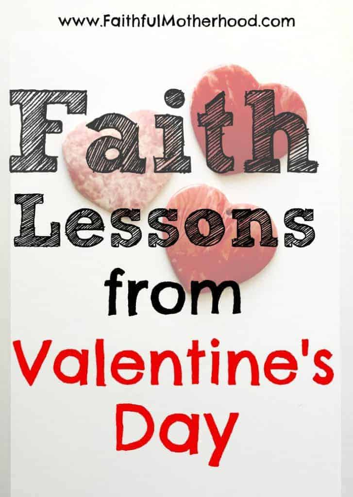 ceramic hearts title faith lessons from Valentine's Day
