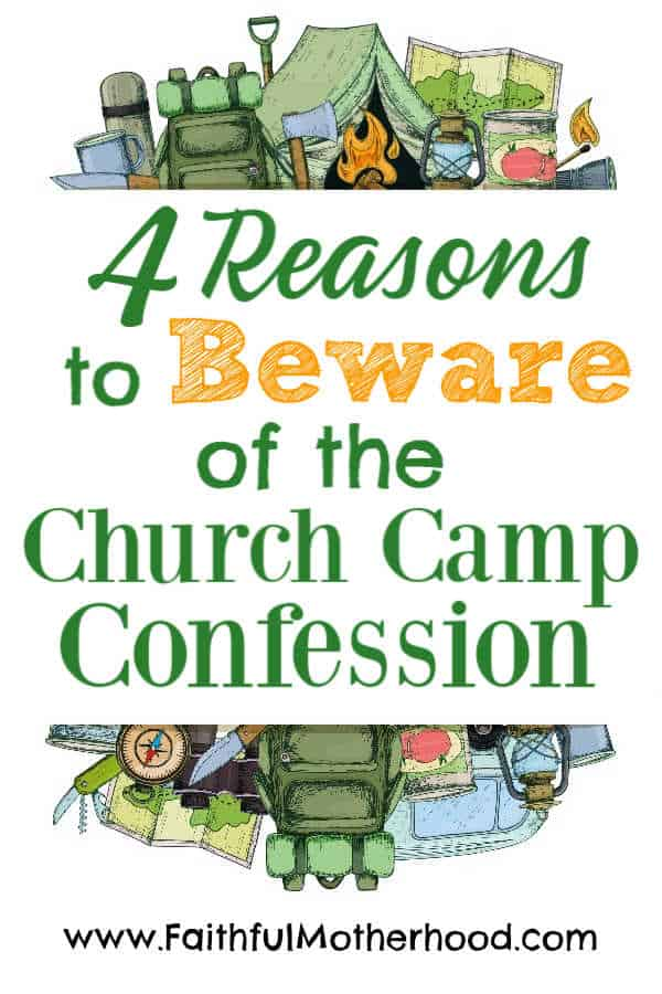 church camp confession