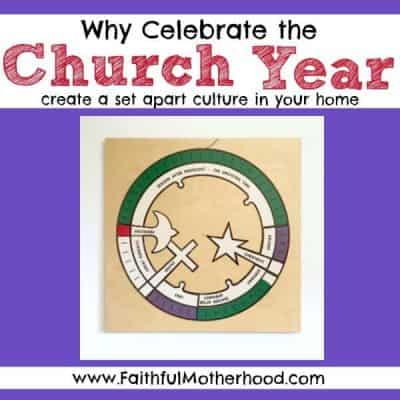 Why celebrate the church year