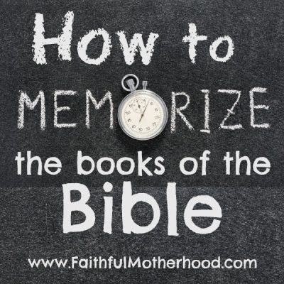 7 Creative Tips to Memorize the Books of the Bible