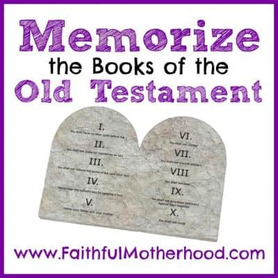 How to Memorize the Books of the Old Testament