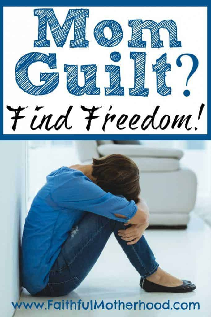 Mom Guilt. All moms suffer from mom guilt. Find freedom from mom guilt through Jesus. Are you enough? No, but Jesus is enough.