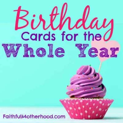 Save with Gifts & Birthday Cards for the Whole Year