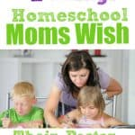 homeschool mom helping two kids - homeschool moms wish their pastor knew