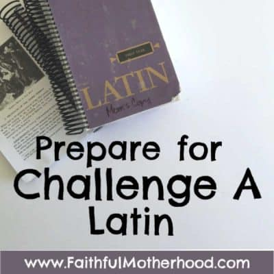 Prepare for Challenge A Latin