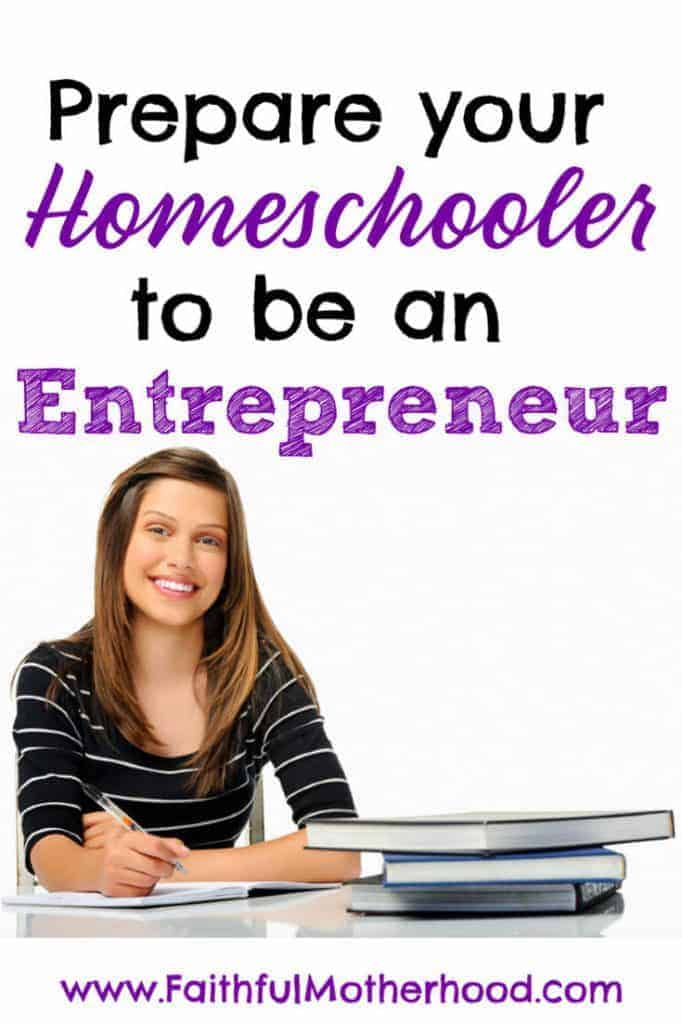 Does your child study like an employee or an entrepreneur? Which are you raising your child to be? I challenge you to prepare your homeschooler to be an entrepreneur. Get the concrete entrepreneur mindset changes that you need to make. #homeschoolentrepreneur #thinklikeanentrepreneur #entrepreneurmindset #employeevsentrepreneur #faithfulmotherhood