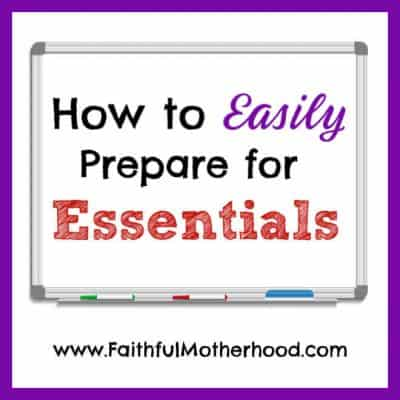 How to Easily Prepare for Essentials
