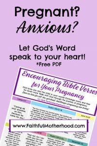 Encouraging Bible Verses for Pregnancy