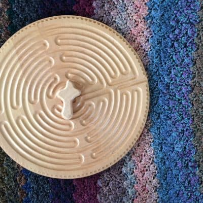 How to Focus in Prayer with the Hand-Held Labyrinth