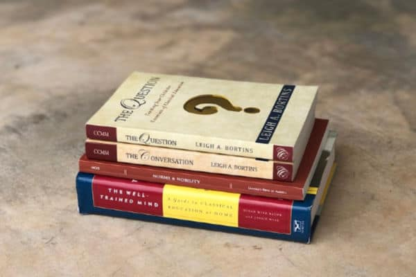 Christian Classical Education Books: The Question; The Conversation; Norms and Nobility; and The Well-Trained Mind