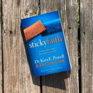1 of 3 Christian Parenting Books: Sticky Faith