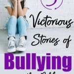 girl crying, feeling left out - 3 victorious stories of bullying in the Bible