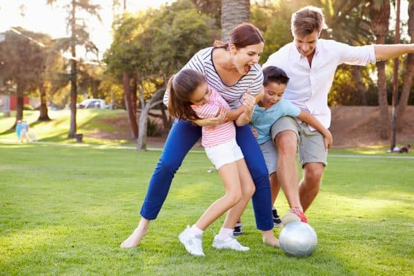Bring Family Closer by Playing Soccer together
