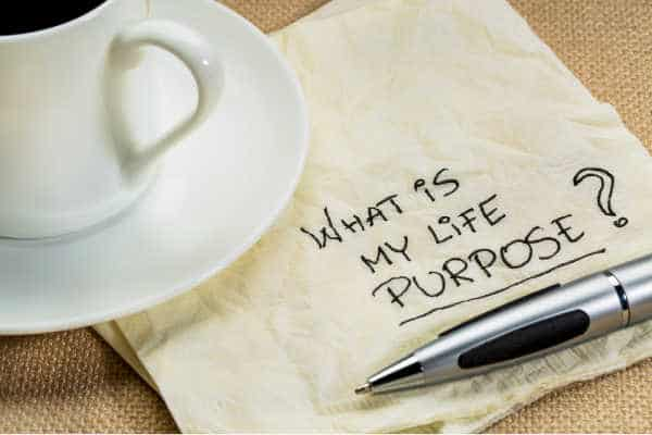 What is my life purpose question on a cocktail napkin with a cup of coffee  - wondering about how to raise kids to be entrepreneurs, entrepreneur vs employee mindset